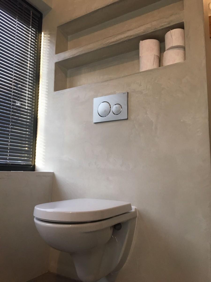 Toilet betonlook