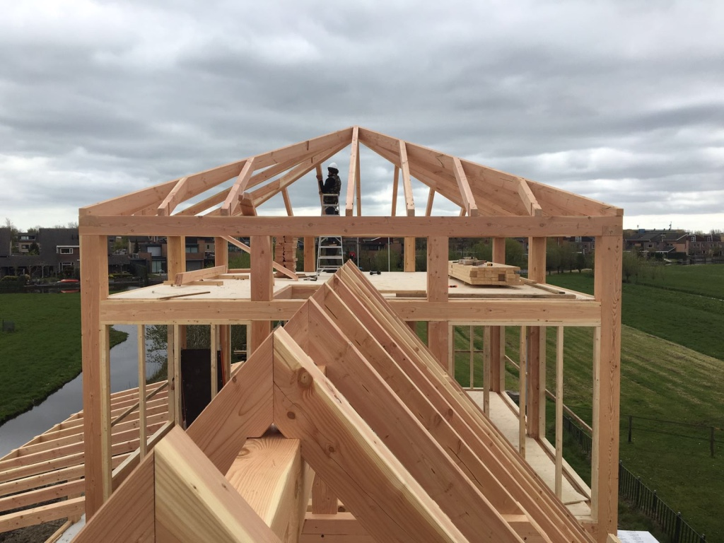 Douglas houtconstructie